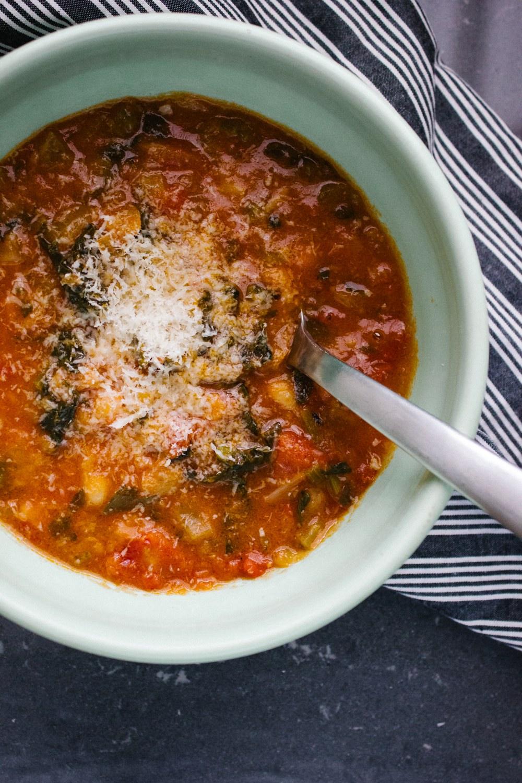 Stale Bread Soup (Ribollita)