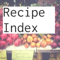 Recipe Index