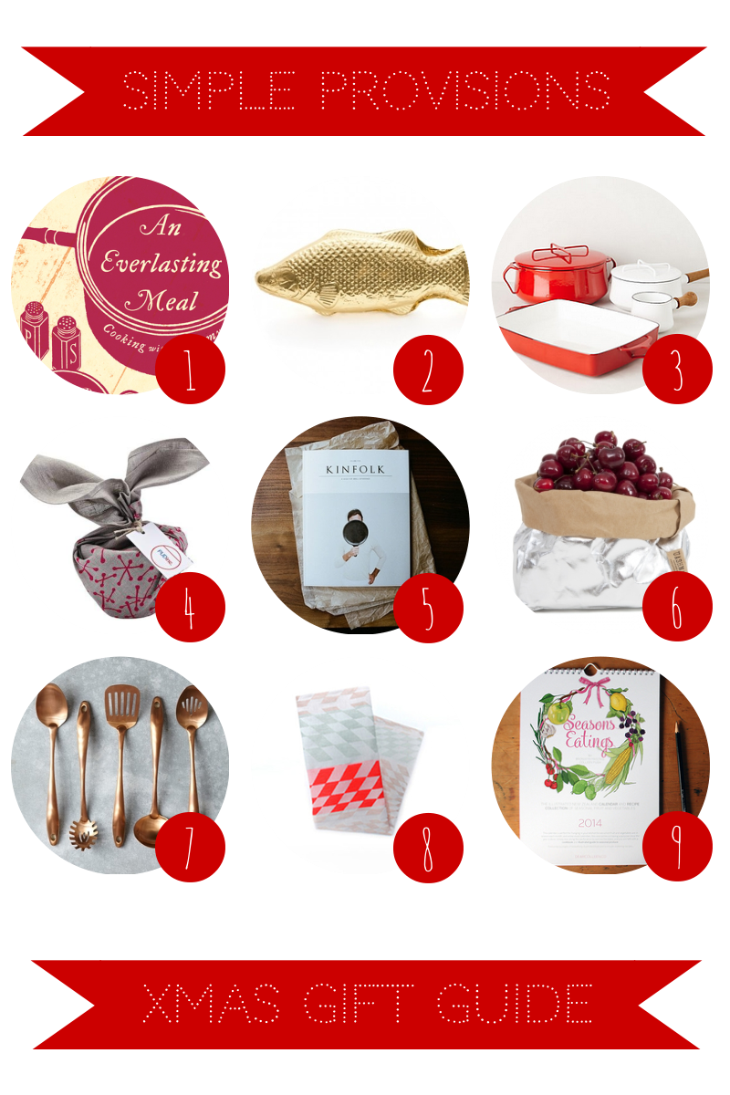 Simple Provisions Christmas Gift Guide