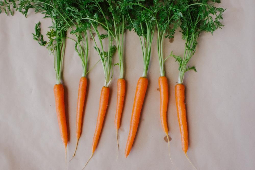 Pomegranate Roasted Carrots
