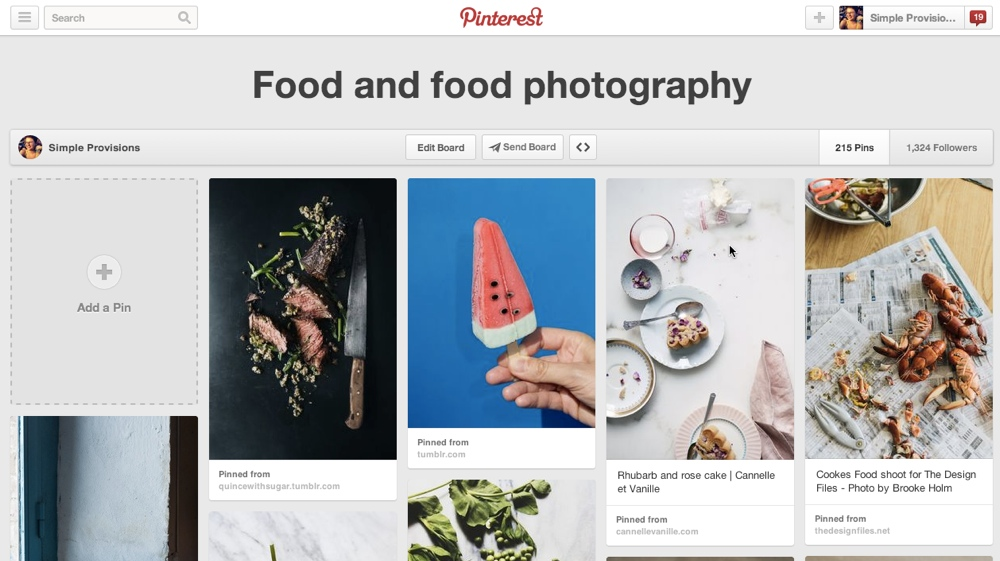 Simple Provisions Pinterest