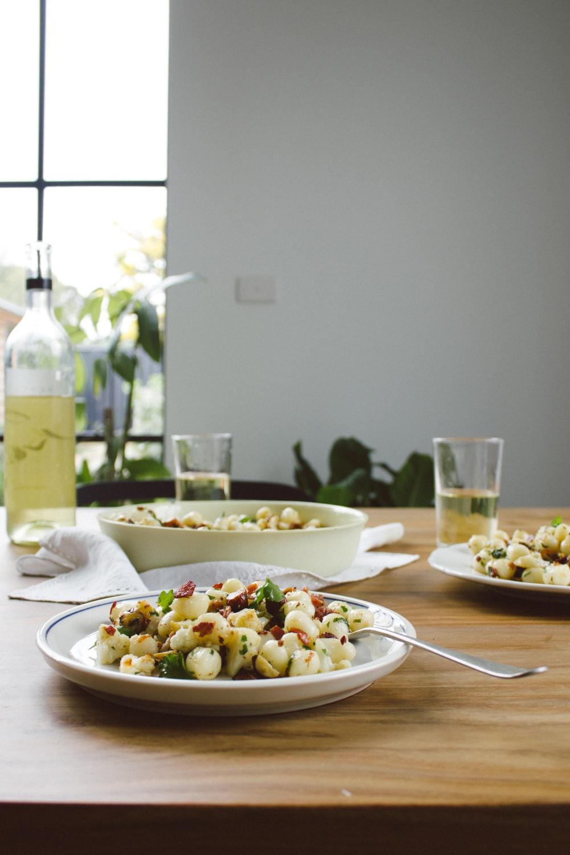 Cauliflower, Pancetta and Hazelnut Gnocchetti | Simple Provisions