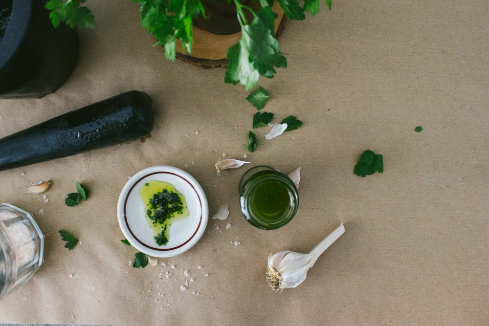 Parsley Oil | Simple Provisions
