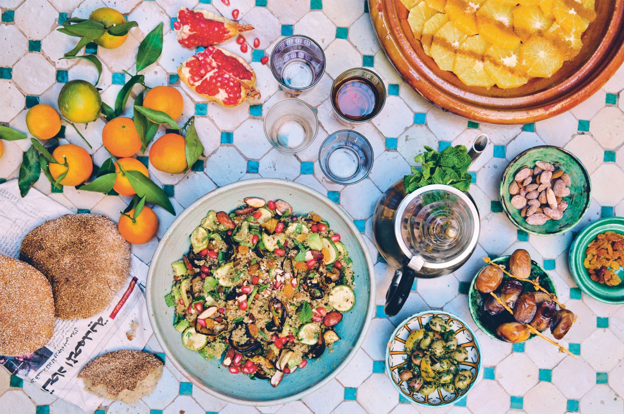 Green Kitchen Travels - Moroccan Table